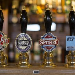 The Ailsa Tavern Twickenham Beer Pumps