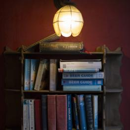 The Ailsa Tavern Twickenham Bookcase
