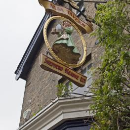 Old Sign on The Ailsa Tavern Twickenham